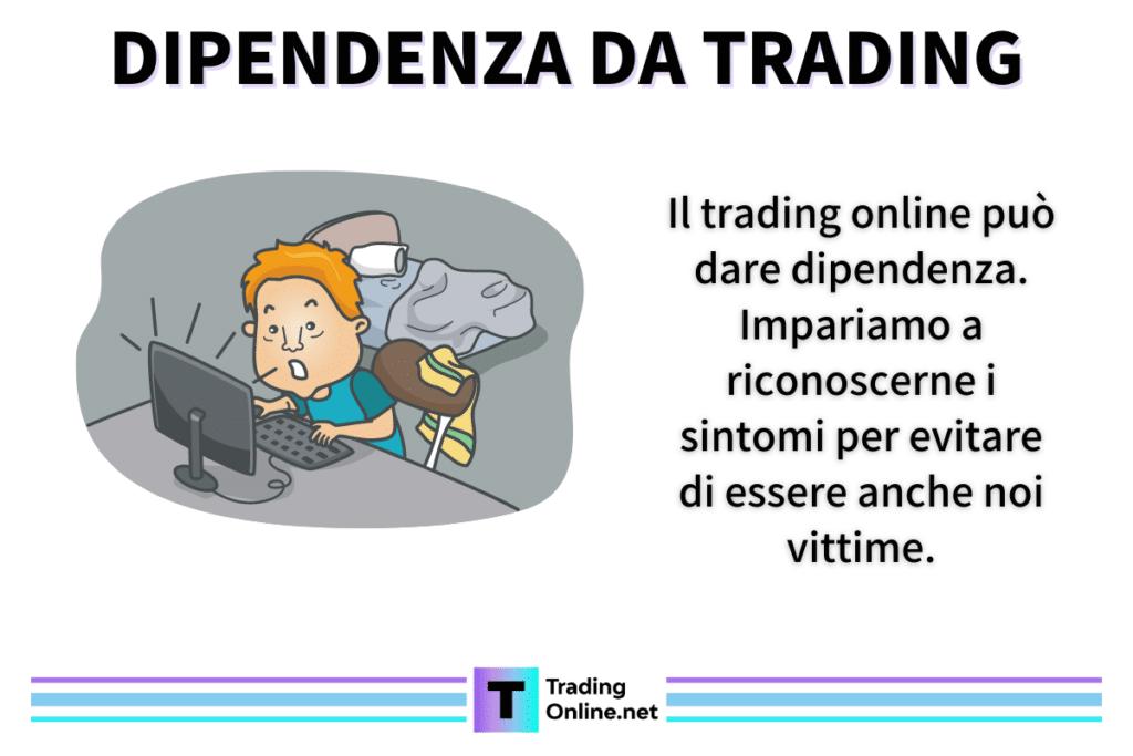 Dipendenza - infografica di TradingOnline.net