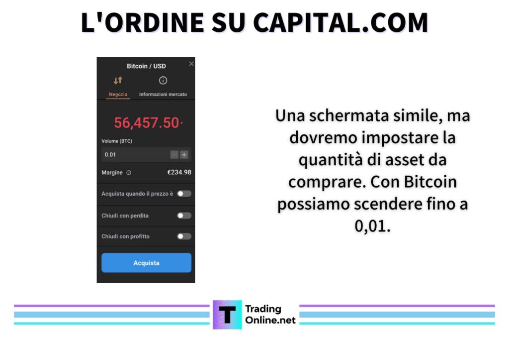 Ordine capital.com - a cura di TradingOnline.net